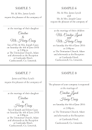wedding invitations limerick wedding invitations templates on silver pond