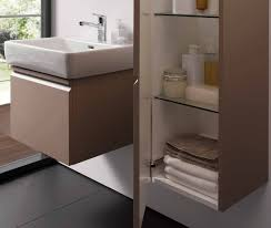 laufen pro 520mm vanity unit with 1 drawer and 1 interior drawer