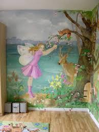 Bedroom Wall Murals Girls Scheme Little Girl Bedroom Decorating - Girls bedroom wall murals