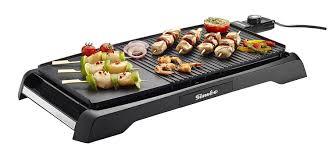 cuisine à la plancha électrique siméo cv320 plancha grill amazon fr cuisine maison