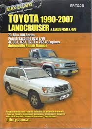 toyota landcruiser 1990 2007 petrol 70 80 100 series ellery