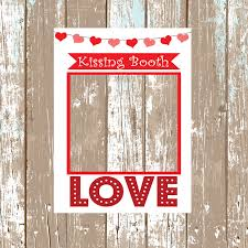 Photo Booth Frames Kissing Booth Wedding Frame Photobooth Frame Valentines Day