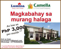 disyerto camella homes has been serving the philippine communities for 40 years now camella homes is the banner brand of vistaland s house and lot projects