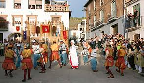 moors and christian festival in spain