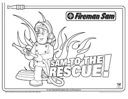 firefighter coloring pages preschoolers printable fireman