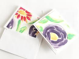 watercolor notecards make your own watercolor note cards hgtv