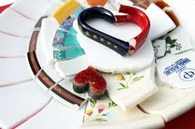geschenk f r polterabend scherben bringen glück mosaik kunst hamburg