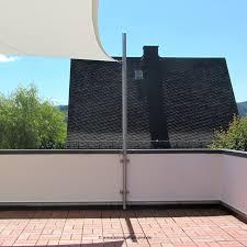 sonnensegel befestigung balkon sonnensegel wandschelle aus edelstahl kaufen sonnensegel pina