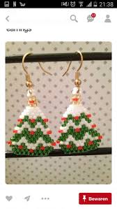 231 best weihnachtsohringe images on pinterest beads beading
