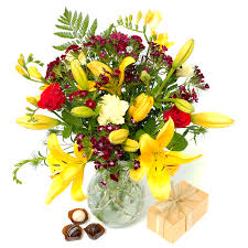 flowers gift fresh flowers chocolate truffles gift flower delivery uk