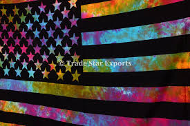 American Flag Tapestry Wall Hanging Twin Tie Dye American Flag Wall Art Tapestry