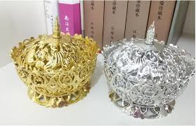 party favours gold silver crown wedding box party favours gift candy chocolate