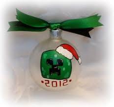 diy minecraft ornaments crafts ornament
