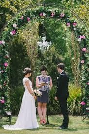 wedding arches tasmania strawberry fields dave in los gatos ca wedding