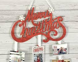 holiday card holder etsy