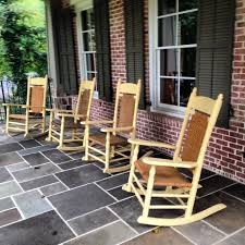 Heaven Antiques And Custom Furniture Los Angeles Ca Brumby Rocking Chair In Custom Yellow Brumby Rocking Chairs Are