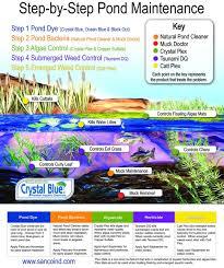 amazon com crystal blue lake and pond dye royal blue color 1
