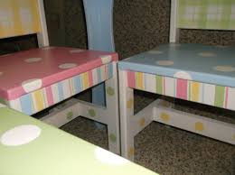 childrens table and chair set tea party kids table chairs playhouse