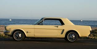 1965 yellow mustang mustang coupe pictures