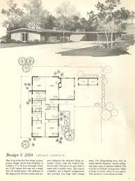 vintage house plans 1960s homes mid century kitchen designs