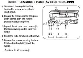 1999 buick lesabre stereo wiring diagram buick wiring diagram