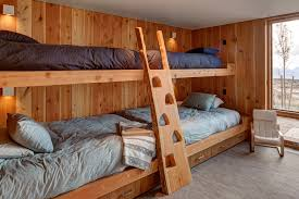 Bunk Bed Ladder Bunk Bed Ideas Bedroom Rustic With Armchair Bed Ladder Built
