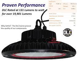 Led High Bay Light 150 Watt Dimmable Led High Bay Ufo Light 20 000 Lumen 5000k