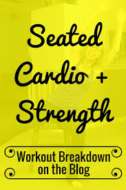 Armchair Aerobics Exercises You Don U0027t Have To Stand Up To Get Sweaty Seated Cardio Hiit