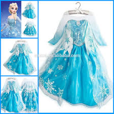 frozen costume frozen costume elsa dress princess kids fancy