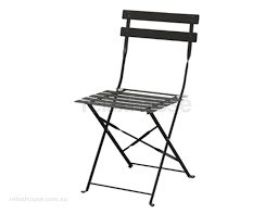 Folding Bistro Chairs Black Bistro Chairs Set Of 2 Folding Chairs
