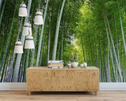 popular bamboo wallpapers buy cheap bamboo wallpapers lots from beibehang the mural the wall green bamboo wallpaper scenic mural wallpaper and pure and fresh nature