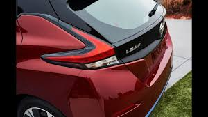 nissan leaf ev range automobile 2018 nissan leaf ev delivers more power extra range