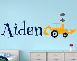 Wall Decals Kids Rooms by Construction Kids Wall Decal Nursery Wall Decal Vinyl Wall