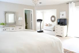delectable image of bedroom decoration using all white bedroom comely image of bedroom decoration with treadmill in bedroom including all white plain bed sheet and