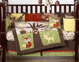 Rainforest Crib Bedding Decorate Small Woodland Crib Bedding Home Inspirations Design