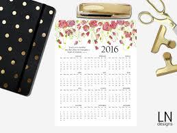 printable calendar 2016 etsy free printable 2016 calendar eighteen25
