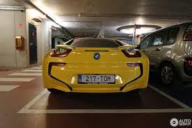Bmw I8 Yellow - bmw i8 4 august 2017 autogespot