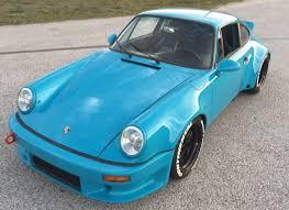 porsche 911 wide porsche 911 miami blue turbo wide lightweight rod 3 3l