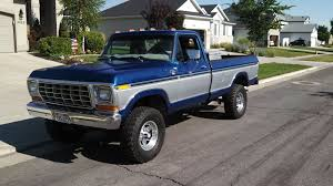 truck ford blue 1979 two tone paint ford truck enthusiasts forums