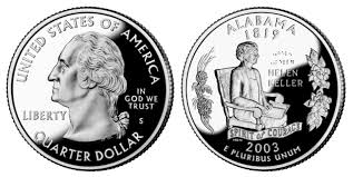 State Series Quarters Collector Map by 50 State Quarters Program