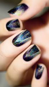 60 ombre nail art designs a well nail black and glitter