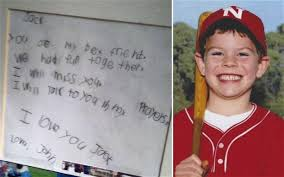 connecticut shooting farewell letter from boy to best