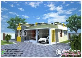 Home Home Design Ground Floor For Modern 1400 Sq Ft Villa Interiors Shanu Sha D1 A