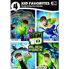 4 kid favorites ben 10 alien force dvd target