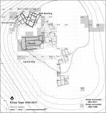 architectural plans and stratigraphic sections