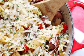 one pot pasta with sausage peppers and apples cravings of a