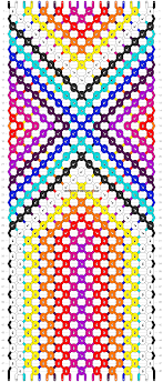bracelet pattern images Normal friendship bracelet pattern 11741 png