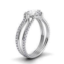 danhov engagement rings danhov filo split shank custom made engagement ring