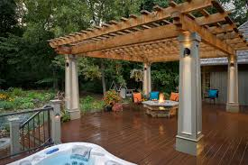 Pergola Rafter Tails by Southview Design Outdoor Living Honorable Mention In