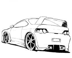 car coloring pages 9